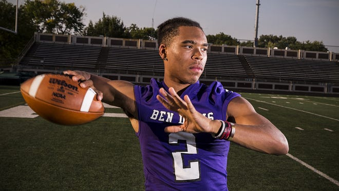 Ben Davis quarterback Reese Taylor has experience and lots of weapons at his disposal.