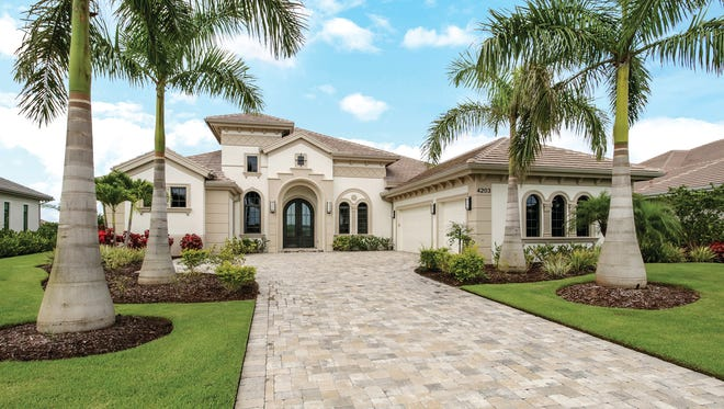 The Ponte Verda Grande, by Stock Signature Homes, is priced at $1.825 million.