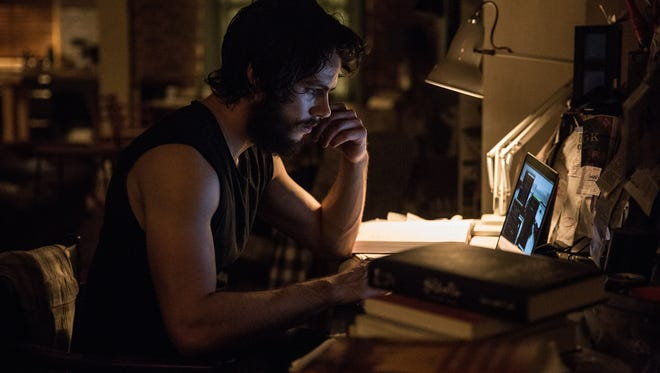 After recovering at home, Dylan O'Brien used his real angst (and beard) to play Mitch Rapp.