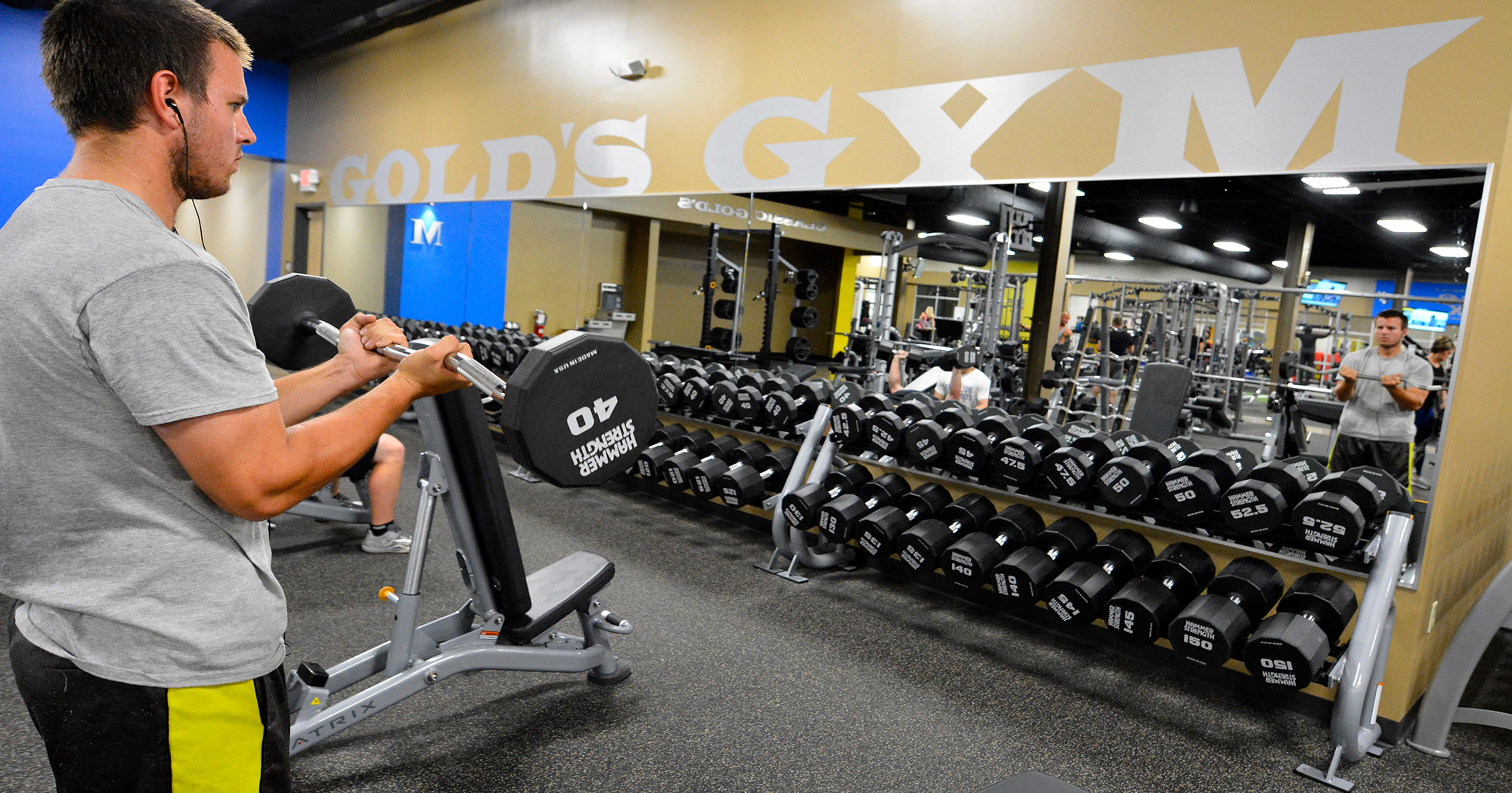 Gold's Gym moving to Queensgate shopping center