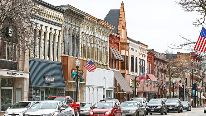 The Fond du Lac City Council will be taking bids from consulting firms that could help plan the future of Fond du Lac's downtown. Thursday April 20, 2017. Doug Raflik/USA TODAY NETWORK-Wisconsin