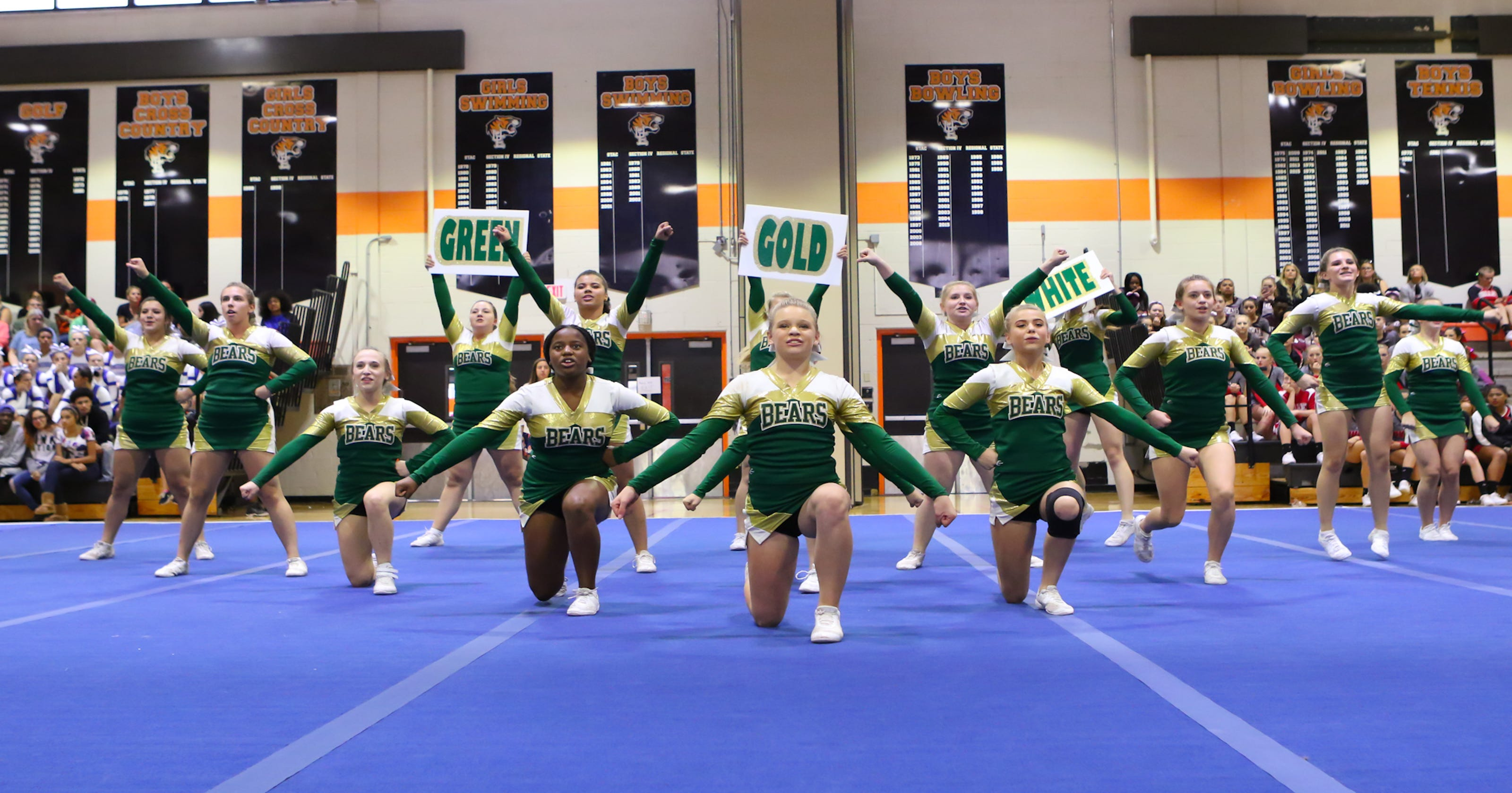 124205c7e57ed Cheerleaders more focused on competing than ever before