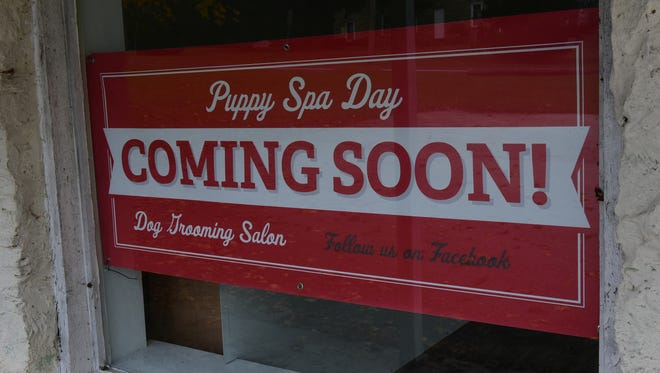 Puppy Spa Day will be opening soon at 15328 Church St. in Blue Ridge Summit. Photo taken Wednesday, November 8, 2017.