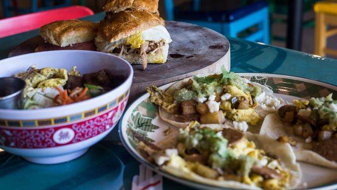 """Sunrise Memphis offers a variety of breakfast biscuits and plates as well as other options for breakfast. """"It's our twist on the classic favorites that your grandmother used to cook,"""" Ryan Trimm, chef and owner, said. CA Lunch Bunch will go to Sunrise Jan. 12."""