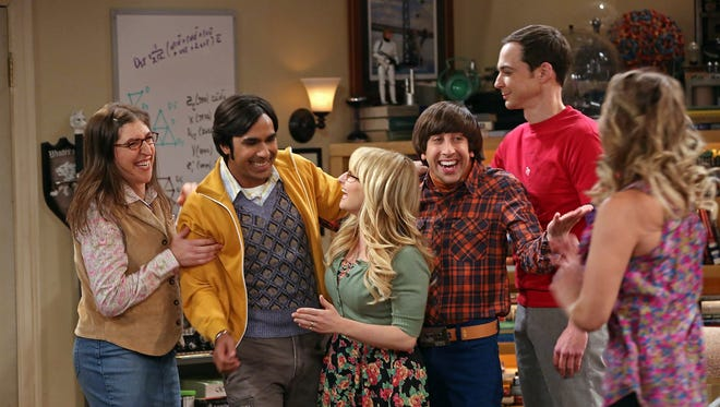 CBS hit comedy 'The Big Bang Theory,' whose cast is seen here, will end its run after Season 12 in May 2019.