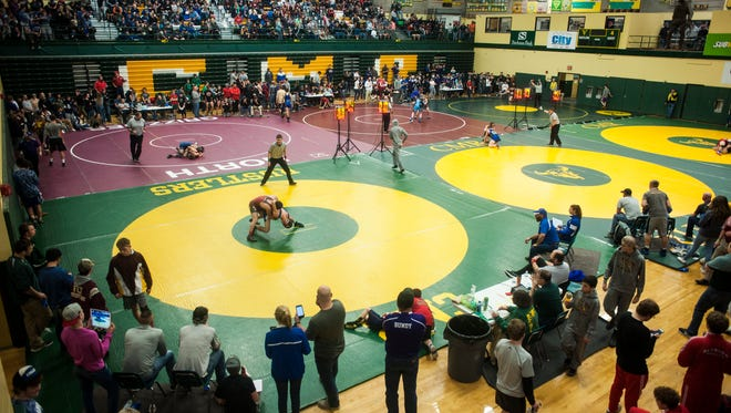 This year's 41st annual CMR Holiday Classic wrestling tournament kicks off Friday morning at 11 and concludes Saturday afternoon at 3 with the championship matches.