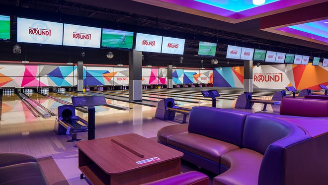 Bowling is one of the activities offered by Round1, an entertainment company with plans to open at Southridge Mall.