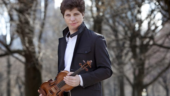 Violinist Augustin Hadelich performs with the Milwaukee Symphony Feb. 2 and 3.