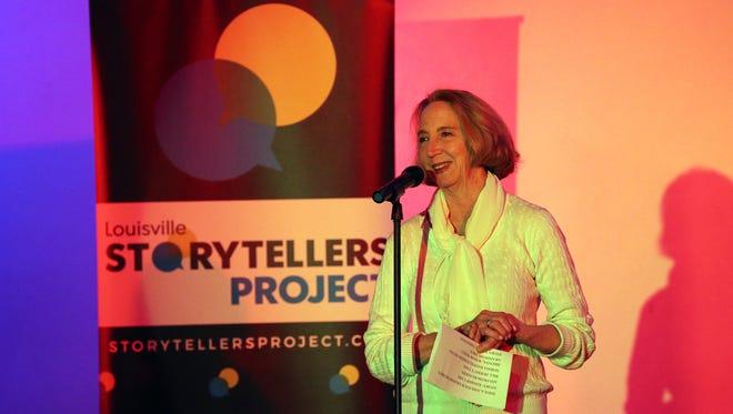 Courier Journal reporter Deborah Yetter at Louisville Storytellers Project