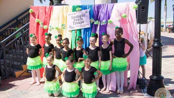 Irish dancing is always part of the Port St. Lucie St. Patrick's Day Festival.