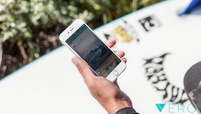 Social media app Vero has seen a surge in downloads over the past week.