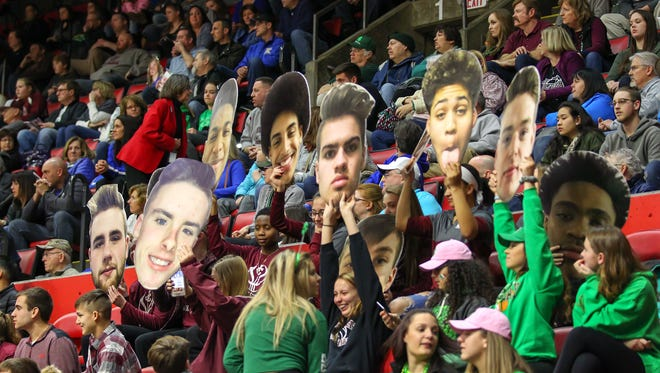 Fan Frenzy will revisit Floyd L. Maines Veterans Memorial Arena in Binghamton for this weekend's state boys basketball championships.