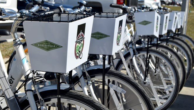 Noblesville has opened two Zagster bike share stations