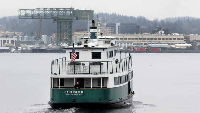 The Carlisle II has returned to service on the Port Orchard-Bremerton route after being sidelined for about three weeks.