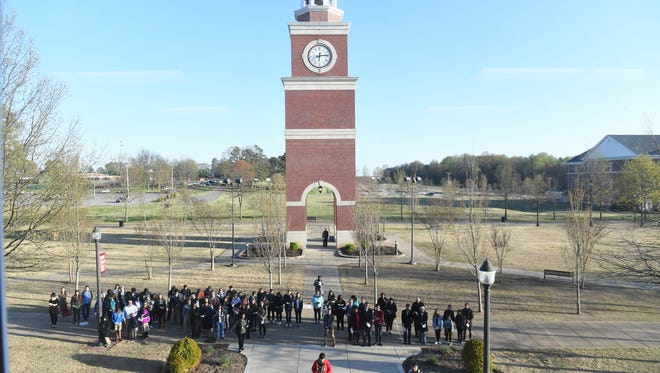 Union University celebrated the legacy of Dr. Martin Luther King, Jr. commemorating MLK50, Wednesday, April 4.