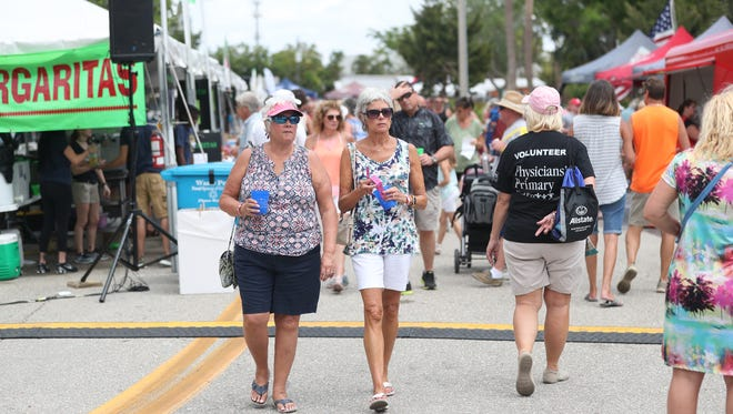 Scenes from Taste of Cape Coral this year at Four Freedoms Park.