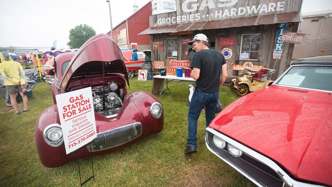 Iola Car Show organizers say their group has facilities and grounds that would be conducive to the large farm show. Their car show swells the population of tiny Iola from 1,300 people to 120,000 during their event each July.