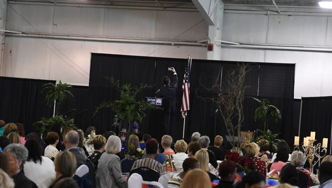 The Women's Leadership Council of the United Way of West Tennessee presented the First Ladies' Luncheon, Thursday, April 12, 2018, at the Jackson Fairgrounds.