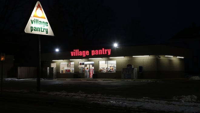 A man robbed the Village Pantry in the 1000 block of South Fourth Street early Friday.