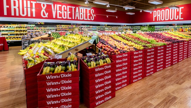 Winn-Dixie will hold a ribbon cutting event Thursday for its remodeled southeast Cape Coral location, which will feature an expanded produce section. (Photo courtesy of St. John & Partners public relations)