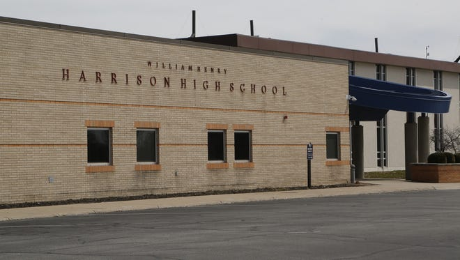 A Harrison High School student was arrested Wednesday after a fight.