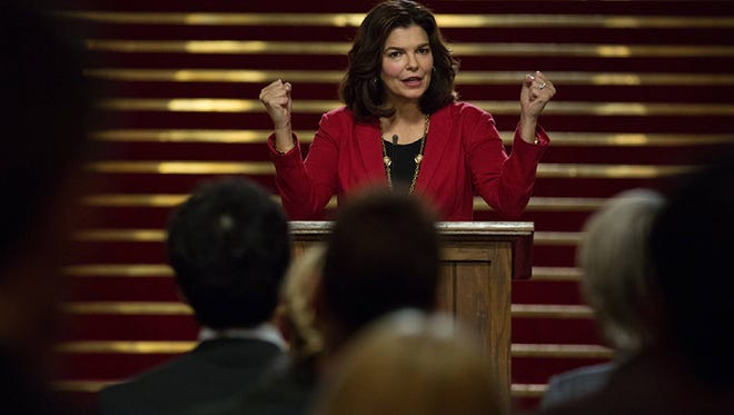 "Jeanne Tripplehorn stars in ""Little Pink House."""