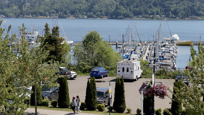 The Port of Bremerton is selling a property on Washington Avenue for $4.5 million. The parking lot is next to the Hampton Inn and Suites.