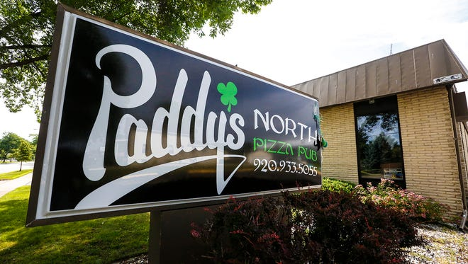 Paddy's North Pizza Pub on Scott Street in Fond du Lac. June 26, 2018. Doug Raflik/USA TODAY NETWORK-Wisconsin