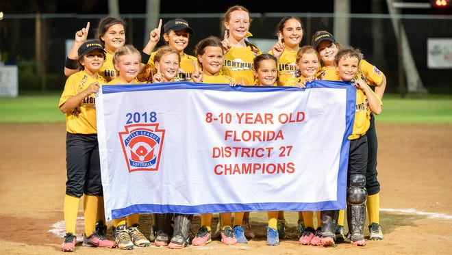 The Golden Gate 8-10 All-Stars wrapped up the district title for a second straight year.