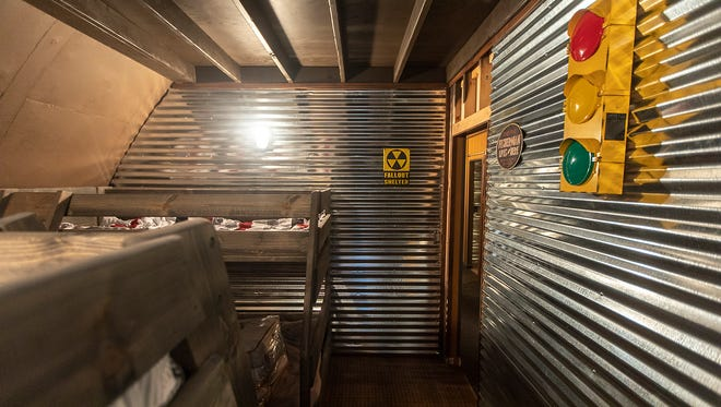 Doomsday Bunker Take A Look Inside A Showroom Bunker Near