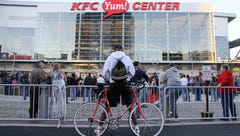 The KFC Yum Center was built to spur a downtown boom. Did it work?