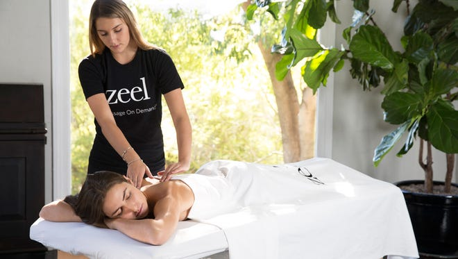 In-home, on-demand massage company Zeel launched in Milwaukee and Madison Monday.