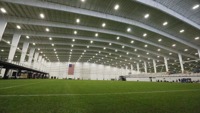 A covered practice field will let Colts and fans dodge bad weather.