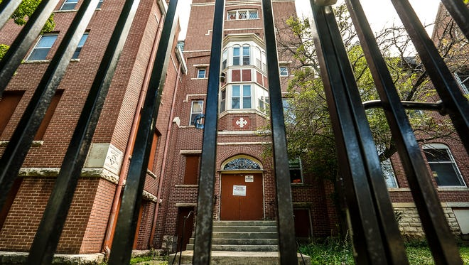 The historic Sisters of the Holy Nativity Convent on East Division Street in Fond du Lac has been in the center of a court battle between the city and it's owner, who has failed to make court-ordered repairs since a 2015 fire damaged the building.  Doug Raflik/USA TODAY NETWORK-Wisconsin