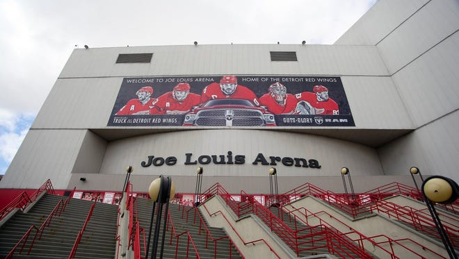 Under a deal with Financial Guaranty Insurance Co., a major Detroit bondholder, the city would agree to demolish Joe Louis Arena and its parking garage. The state has agreed to reimburse the city for the demolition as part of the development plan for the new Red Wings hockey arena. The deal with FGIC was announced in Bankruptcy Court on Thursday, Oct. 16, 2014.