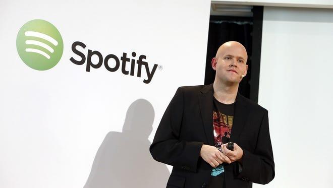 Daniel Ek, CEO of Spotify