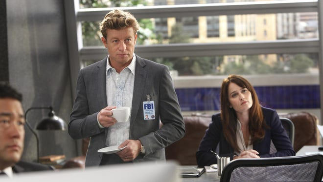 Simon Baker returns as Patrick Jane and Robin Tunney as Teresa Lisbon in the final season of 'The Mentalist' on CBS.