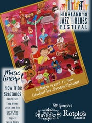 The 15th annual Highland Jazz & Blues Festival is set