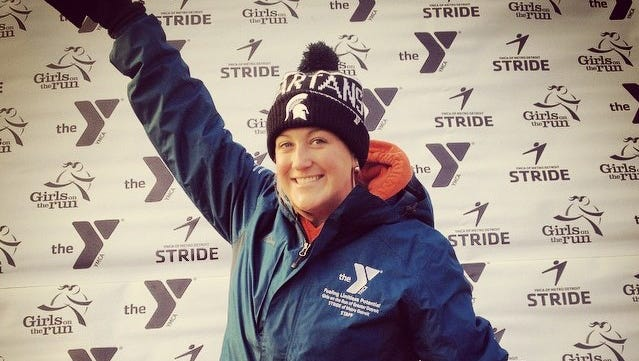 """Katie Kokko says she's living her """"dream job"""" as executive director of Carl's Family YMCA in Milford."""