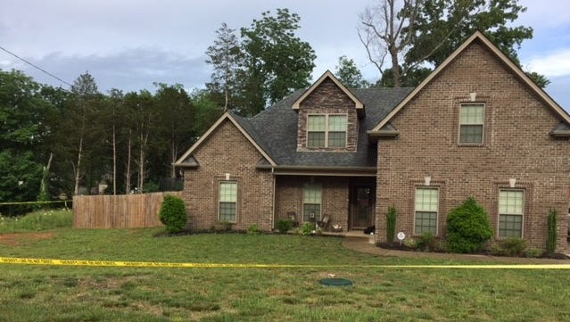 Police were investigating Monday night after four people were found in a home on Rivercrest Drive in Murfreesboro.