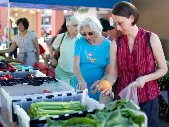The Chandler Farmer's Market is held every Thursday