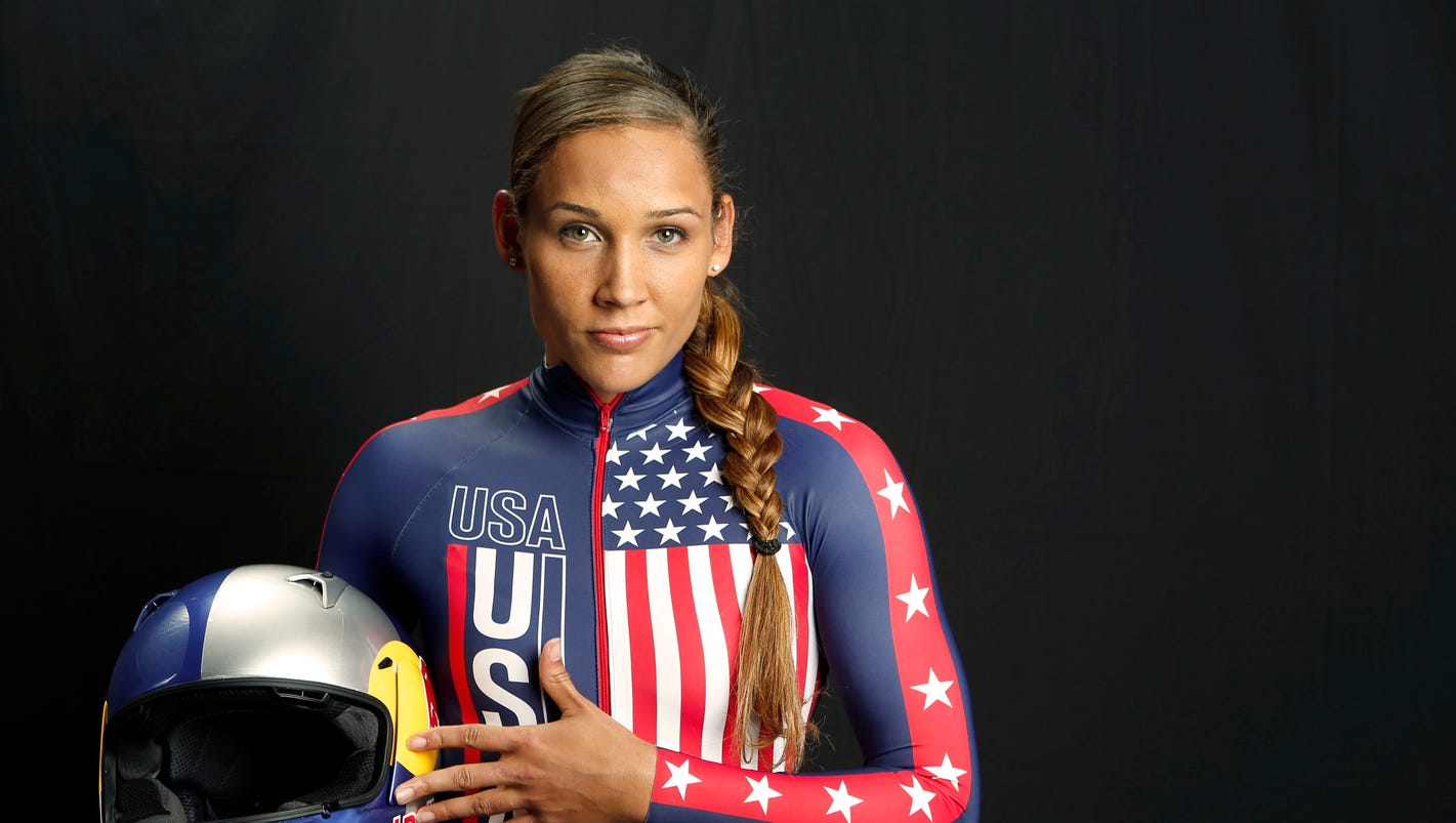 Lolo Jones faced with stiff competition to make Olympic bobsled team