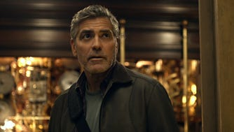 "Frank Walker (George Clooney) is a former boy genius who's now a reclusive inventor in ""Tomorrowland."""