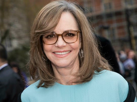 Sally Field arrives at the Olivier Awards in London on April 7, 2019.