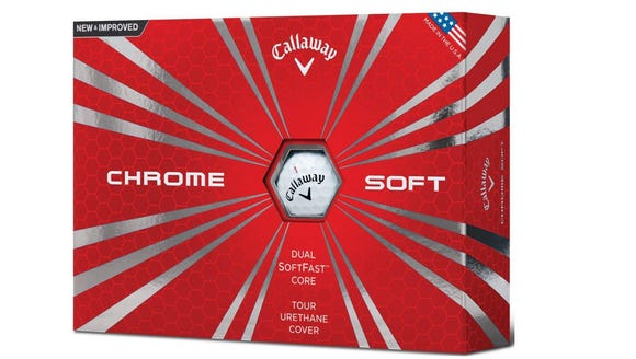 Best Gifts for Golfers 2018: Callaway Chrome Soft Balls.
