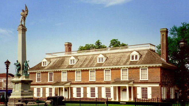 Philipse Manor Hall State Park in Yonkers.