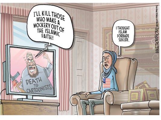 Those who make a mockery of Islam