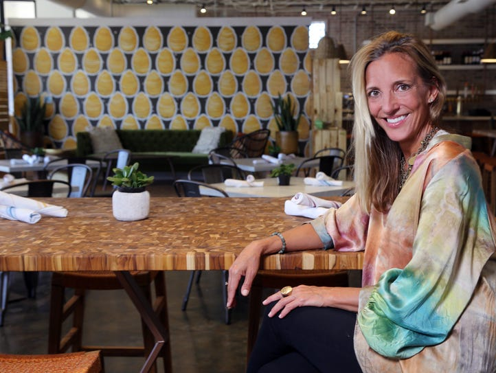 Jennifer Masley, owner of EiO & The Hive, photographed