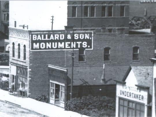 A historic shot of the Ballard building at 210 S. Main