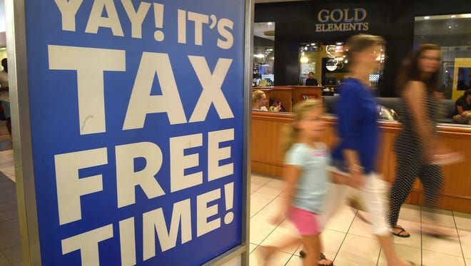 This year's tax holiday is three short days.